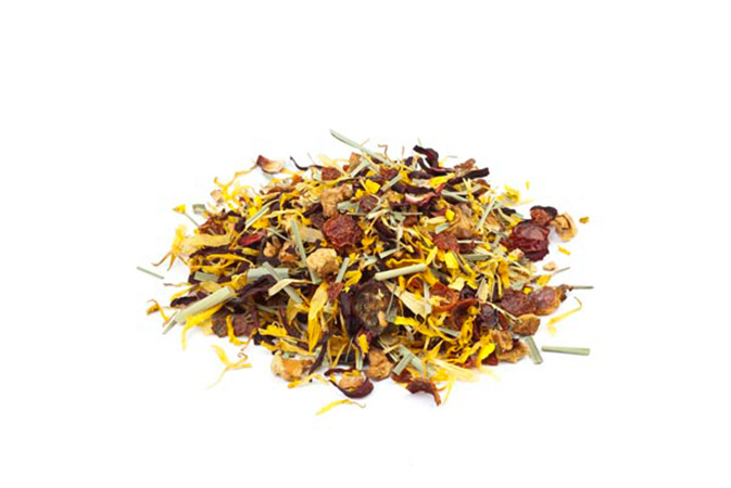 Midsummer Organic - hedelmähauduke - Runda Munken Teekauppa