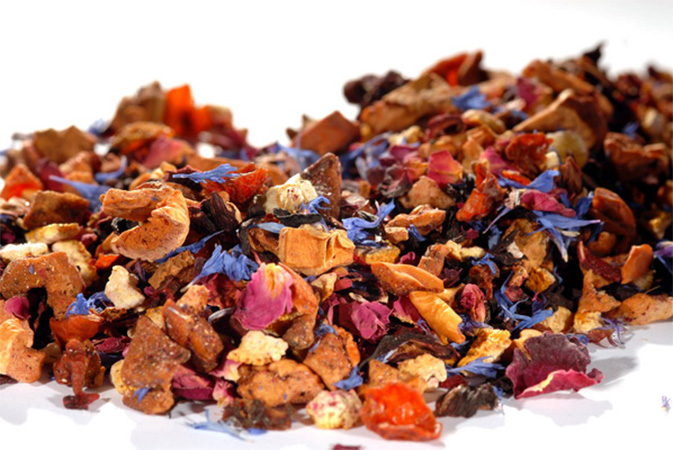 Rose Garden Symphony - hedelmähauduke - Runda Munken Teekauppa