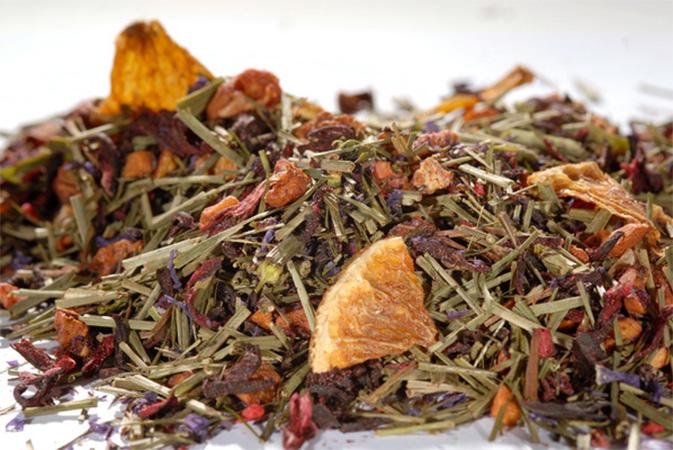 Fresh Rapberry - hedelmähauduke - Runda Munken Teekauppa