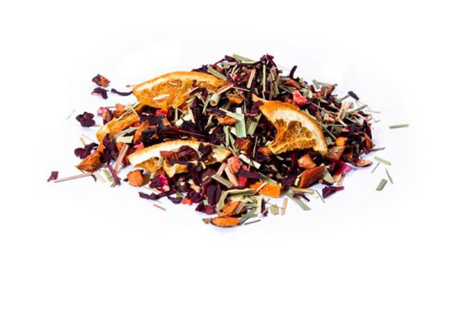 Strawberry Orange Organic - hedelmähauduke Runda Munken Teekauppa