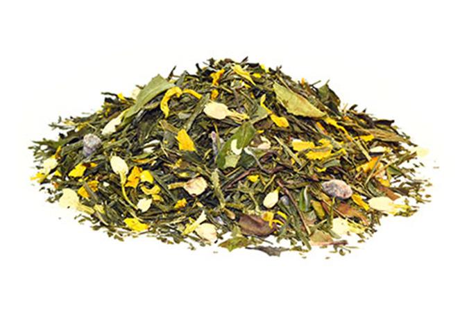 Yellow Dragon - keltainen tee - maustettu tee - Runda Munken Teekauppa