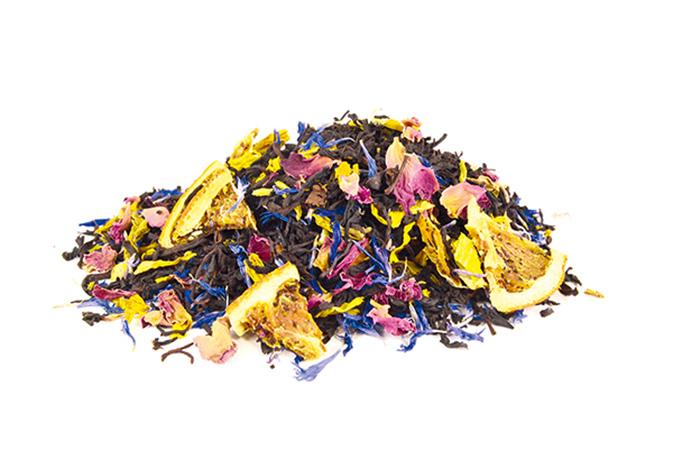 Apricot - musta tee - maustettu tee - Runda Munken Teekauppa