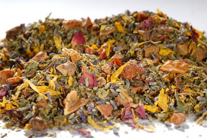 Bishop's Garden - yrttihauduke - Runda Munken Teekauppa