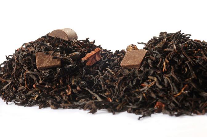 Dark Chocolate Delight - maustettu musta tee - Runda Munken Teekauppa