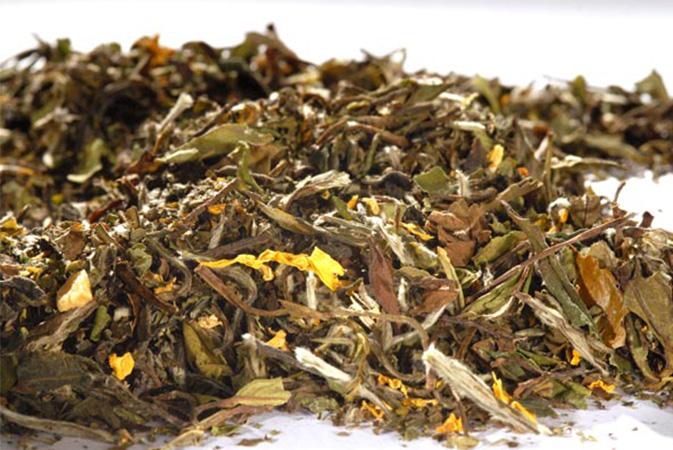 Pai Mu Tan Fresh Lemon - valkoinen tee - Runda Munken Teekauppa