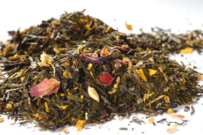 1001 Nights - mustan ja vihreän teen sekoitus - maustettu tee - Runda Munken Teekauppa