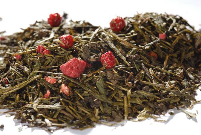 Starlight - vihreä tee - maustettu tee - Runda Munken Teekauppa