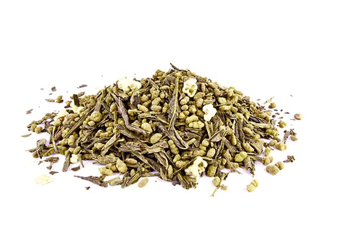 Japan Genmaicha Kohki with Matcha - vihreä tee - maustettu tee - Runda Munken Teekauppa