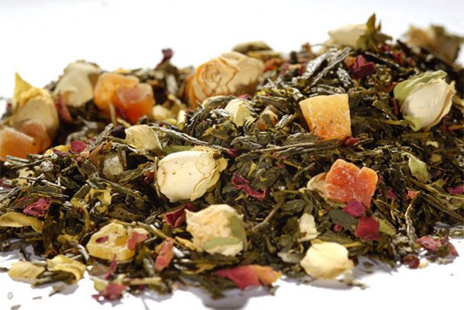 Mango Passion - vihreä tee - maustettu tee - Runda Munken Teekauppa