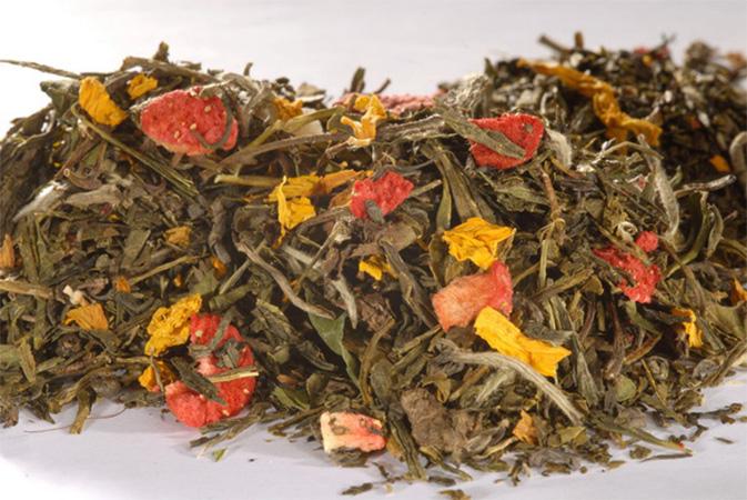 9 Treasures of China - teesekoitus - vihreä tee - maustettu tee - Runda Munken Teekauppa