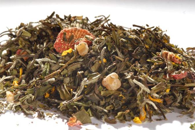 Pai Mu Tan Fine Guava - valkoinen tee - Runda Munken Teekauppa