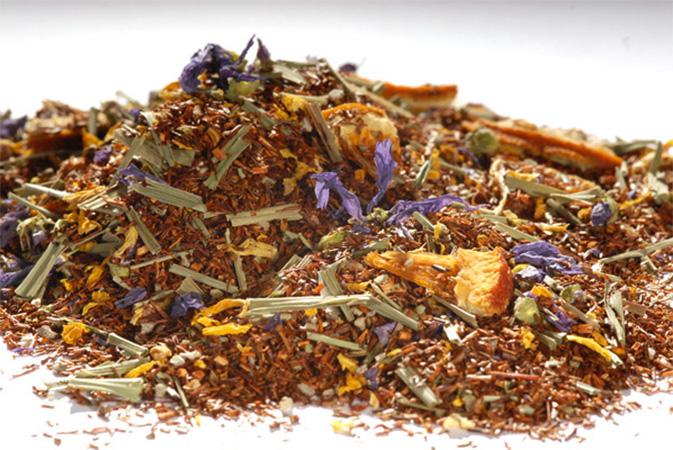 Lime Sage Rooibos - punapensas tee - Runda Munken Teekauppa