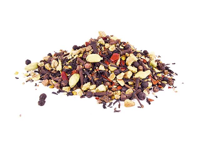 Spiced Chai - musta tee - maustettu tee - Runda Munken Teekauppa