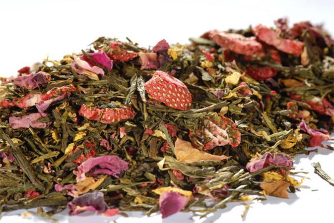 Tiger Town - vihreä tee - maustettu tee - Runda Munken Teekauppa