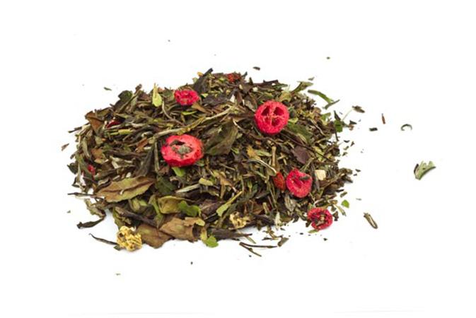 Goji Cranberry Pomegranate - valkoinen tee - Runda Munken Teekauppa
