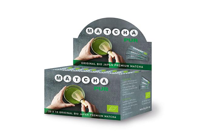 Matcha Sticks Organic - vihreä tee - maustamaton tee - Runda Munken Teekauppa