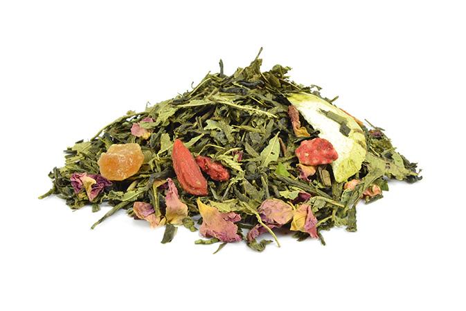 Moringalicious - vihreä tee - maustettu tee - Runda Munken Teekauppa