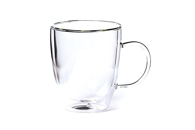 Lasi tuplaseinämällä 0,3 l - teetarvikkeet - Runda Munken Teekauppa