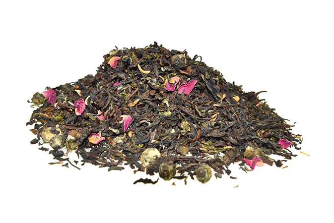 Golden Dragon - maustamaton teesekoitus - Runda Munken Teekauppa
