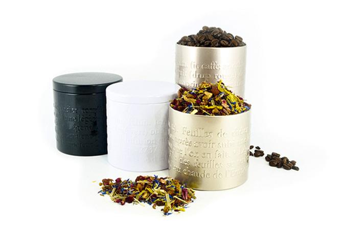 Teepurkki Thé 100g, eri värit - Runda Munken Teekauppa