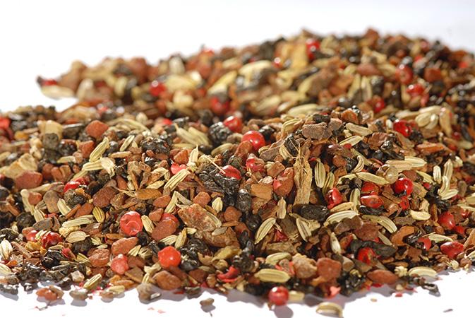 Green Chai Tea Apricot - vihreä tee - maustettu tee - Runda Munken Teekauppa