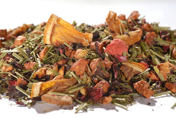 Strawberry Orange - hedelmähauduke - Runda Munken Teekauppa