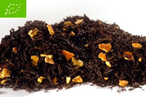 Sweet Orange Organic - musta tee - maustettu tee - Runda Munken Teekauppa