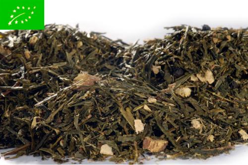 Ginger Lemon Organic Sencha - vihreä tee - maustettu tee - Runda Munken Teekauppa