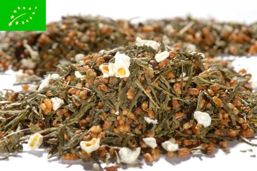 Japan Premium Genmaicha Ketsuro Organic - vihreä tee - maustettu tee - Runda Munken Teekauppa