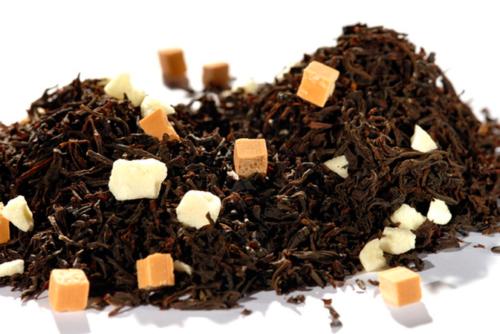 Karamellitoffee - musta tee - maustettu tee - Runda Munken Teekauppa