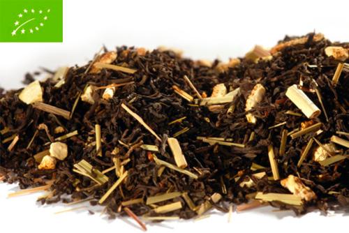Lemon Organic - musta tee - maustettu tee - Runda Munken Teekauppa