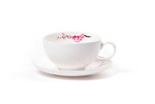 Cherry Blossom teekuppi 0,2 l - Runda Munken Teekauppa